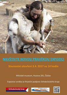 Nová pravěká expozice v Galerii městského muzea Čáslav