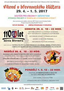 Oslavy 110 let města Břevnova