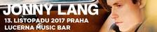 Jonny Lang - zpěvák, kytarista a držitel hudební ceny Grammy v Lucerna Music Baru