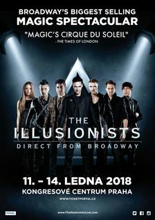 Nejlepší kouzelníci na světě The Illusionists se vrací do Prahy!