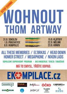 Wohnout a Thom Artway hlavními hvězdami letošího ročníku turné Ekompilace 2017 - Klatovy