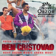 Exluzivní koncert Bena Cristavao v rámci jeho turné v Mostě