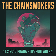 THE CHAINSMOKERS v Tipsport Arena Praha