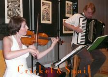 Cricket & Snail - Cvrček & Šnek