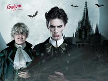 Halloween a hrabě Drákula v muzeu Grévin