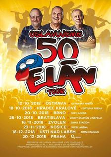 Skupina Elán slaví 50 let. Oslavy zakončí Československým turné a koncertem v O2 areně