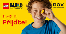 LEGO Build the Change: postav svoje město