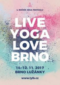 V listopadu proběhne 4. ročník jógového festivalu Live Yoga Love Brno