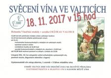Svěcení vína ve Valticích
