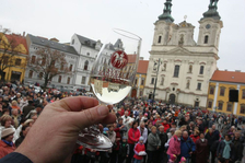 Žehnání svatomartinského vína - Uherské Hradiště
