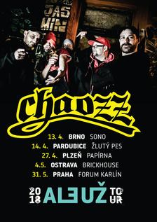Znovu nastane Chaozz. Legendární hiphopeři chystají velké turné s kapelou - koncert v Praze