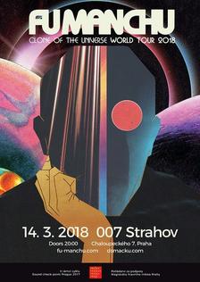 Hard-rockoví klasici Fu Manchu do Prahy přivezou své dvanácté album
