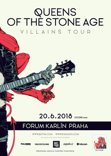 Queens Of The Stone Age v červnu přijedou do Prahy