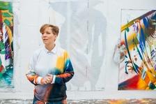 Katharina Grosse: Wunderbild - Veletržní palác