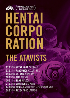 Hentai Corporation + The Atavists v Olomouci