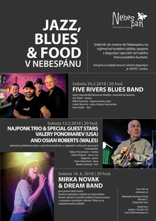 Five rivers blues band - nefalšované blues s nádechem rocku