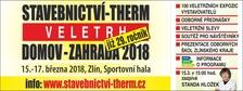 29. ročník veletrhu STAVEBCTVÍ-THERM-DOMOV-ZAHRADA 2018