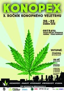 Konopex Ostrava 2018