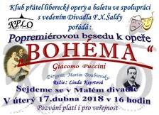 KPLO - beseda k Bohémě - Malé divadlo