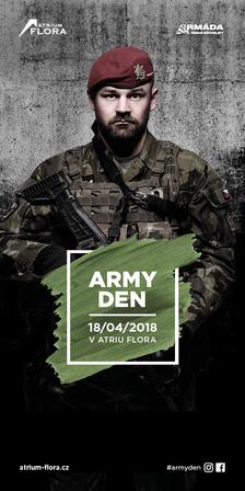 Den s Armádou ČR v OC Atrium Flora