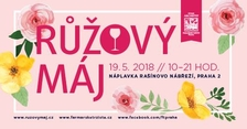 Růžový máj na Náplavce 2018
