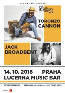 Prague Internacional Bluenight - Jack Broadbent a Toronzo Cannon v Lucerna Music Baru