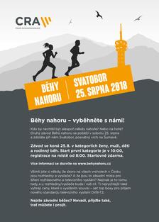 CRA Běhy nahoru - vyběhněte s námi na Svatobor!