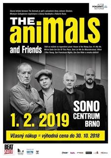 The Animals and Friends (UK) se po roce vrací do Sono Centra