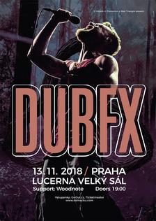 Dub FX v listopadu opanuje pódium Velkého sálu Lucerny