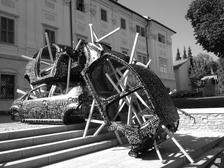 Michal Škapa k vidění na rozsáhlé výstavě v Galerii Villa Pellé