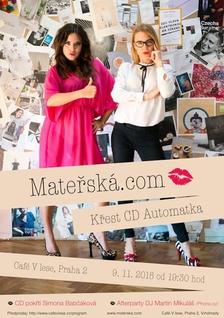 Křest 2. desky Automatka Materska.com v Café V lese