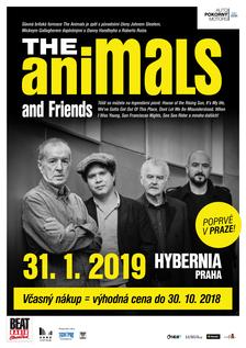 The Animals and Friends poprvé v Praze