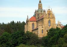 Velikonoční mše v klášteře Kladruby