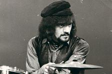 drums of Jethro Tull - Clive Bunker /UK/ v klubu Mersey