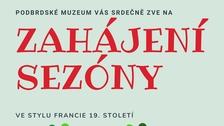 Zahájení sezóny v Podbrdském muzeu