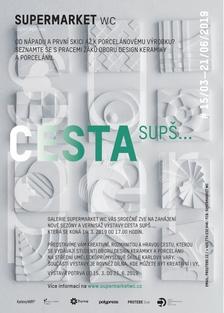 Galerie Supermarket WC - výstava Cesta SUPŠ...