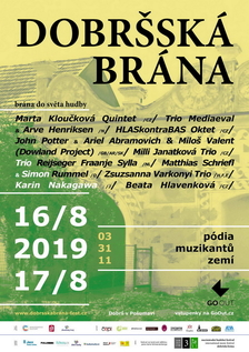 Mezinárodní hudební festival Dobršská brána - brána do světa hudby