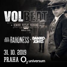 VOLBEAT + BARONESS + DANKO JONES - 31/10/2019 Praha, O2 universum Doručená pošta x