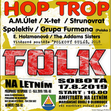 FESTIVAL FOLK NA LETNÍM/HEADLINER: HOP TROP/