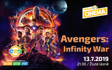 Letní kino Yellow Cinema - Avengers: Infinity War