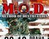 M.O.D. - METHOD OF DESTRUCTION (USA) + supports