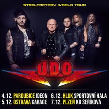 U.D.O./STEELFACTORY TOUR 2019/
