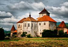 Svatební korzování na hradě Švihov