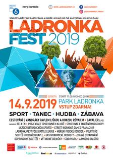 Ladronkafest 2019 nabídne sport, tanec, hudba a zábavu naplno