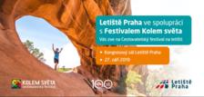 Cestovatelský festival Kolem světa na Letišti Praha