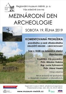Mezinárodní den archeologie - hradiště Libochovany