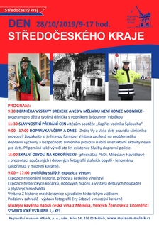 Den Středočeského kraje v Regionálním muzeu Mělník