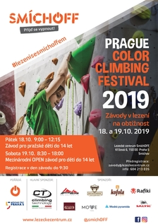 Prague Color Climbing Festival 2019