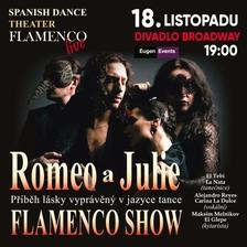Romeo a Julie ve stylu Flamenco v Praze - Divadlo Broadway