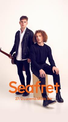 Seafret / UK - Lucerna Music Bar